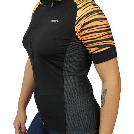 Camisa Ciclismo Feminina Tigresa Comfort Premium Monaro