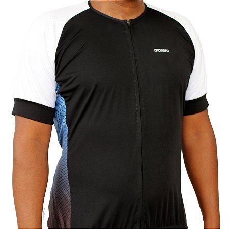 Camisa Ciclismo Masculina Pedal Blue Comfort Premium Monaro