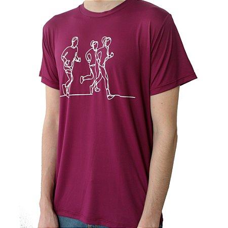 Camiseta Poliamida Esporte Running Lines Monaro