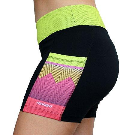 Shorts Feminino Corrida Premium Color Mix