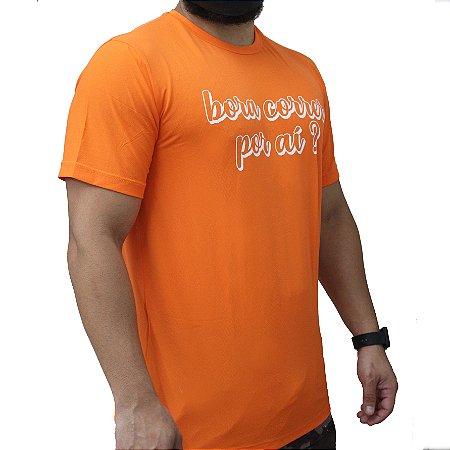 Camiseta Poliamida Esporte Running Bora Correr Por Aí Monaro