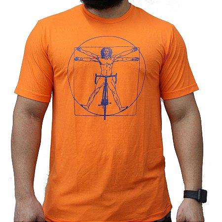 Camiseta Poliamida Esporte Running Homem Vitruviano Monaro