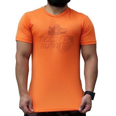 Camiseta Poliamida Esporte Premum Need For Running Monaro