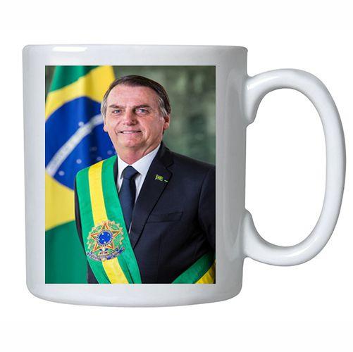 Caneca Foto Oficial Presidente Bolsonaro