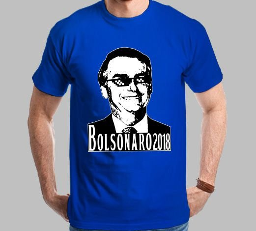 Camiseta Bolsonaro 2018