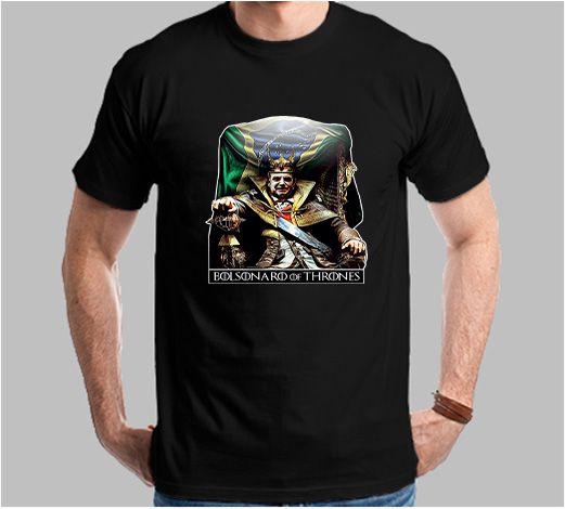 Camiseta Bolsonaro of Thrones