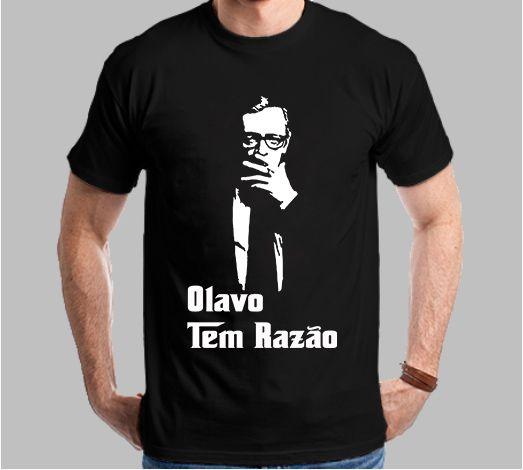 Camiseta Olavo Tem Razão Clássico