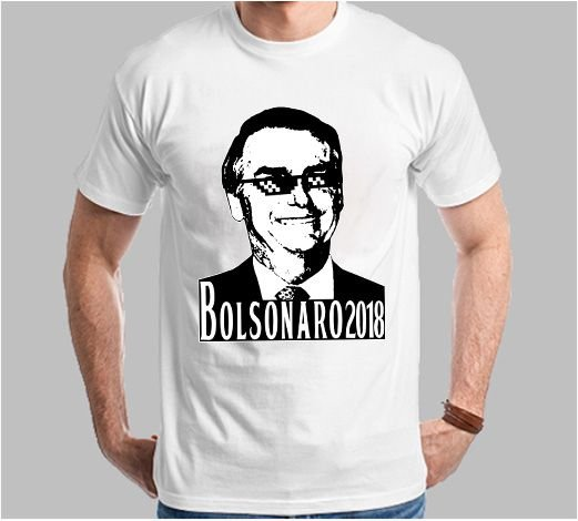 Camiseta Bolsonaro 2018 (Super Econômica!!!)