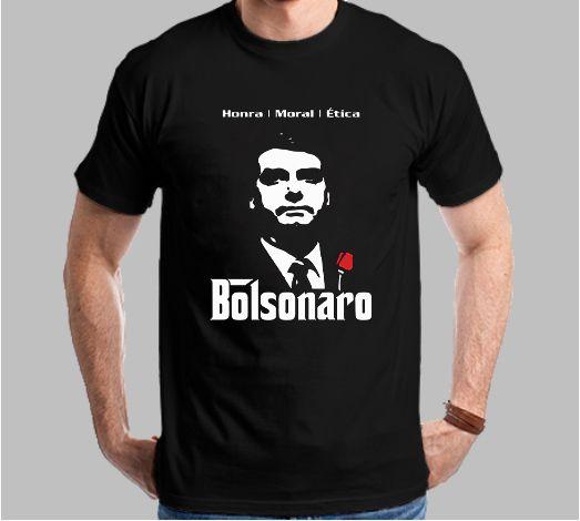 Camiseta Bolsonaro Honra/Moral/Ética