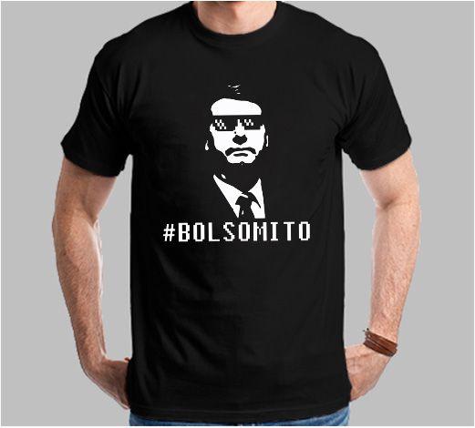 Camiseta Hashtag Bolsomito