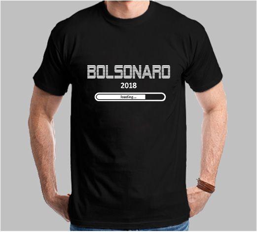 Camiseta Loading Bolsonaro 2018