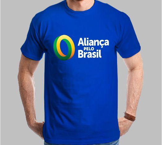 Camiseta Aliança pelo Brasil