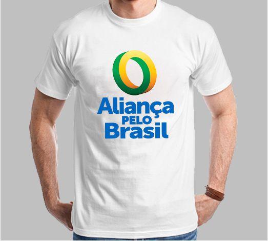 Camiseta Tradicional Aliança pelo Brasil