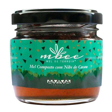 Mbee - Mel Com Nibs de Cacau (150g)