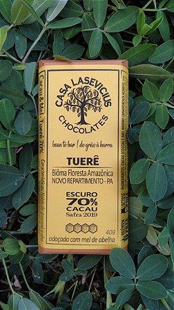 Chocolate Lasevicius - Cacau & Mel (Tuerê 70%)