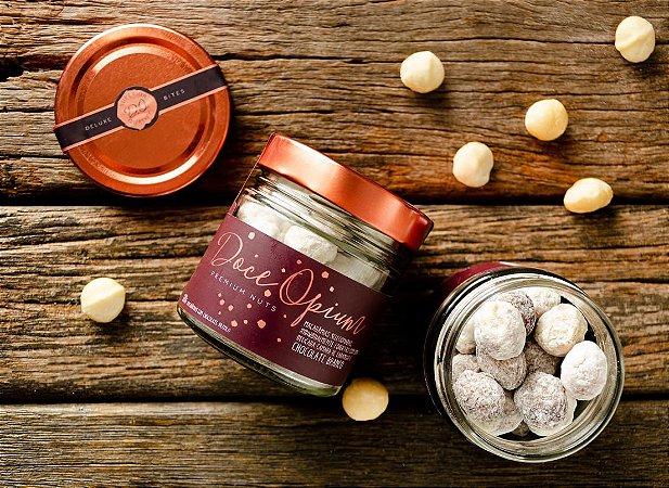 Macadamias Caramelizadas e Cobertas com Chocolate - 120g