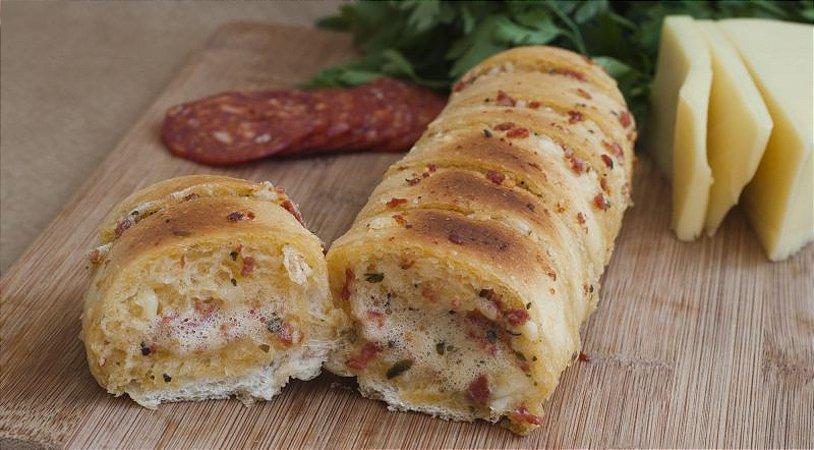 Pão de Peperoni com Queijo