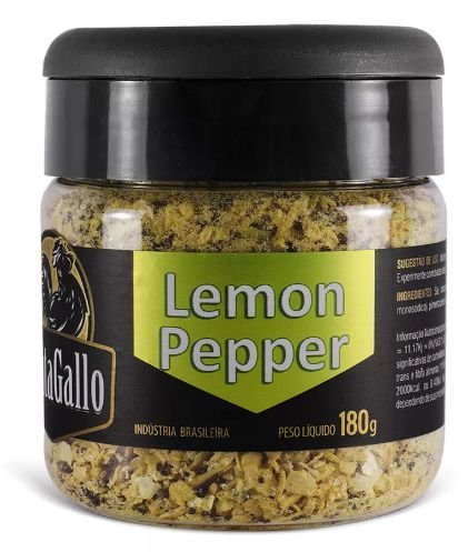 LEMON PEPPER CANTAGALLO - 180g