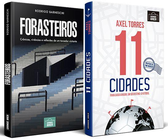 COMBO ESPECIAL: Forasteiros + 11 Cidades (envios via Correios às terças e sextas-feiras)