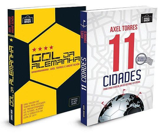 COMBO Axel Torres   ( envios, via Correios, às 3as. e 5as. feiras )