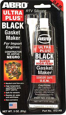 ABRO ULTRA PLUS GASKET MAKER BLACK OR COOPER - 85gr