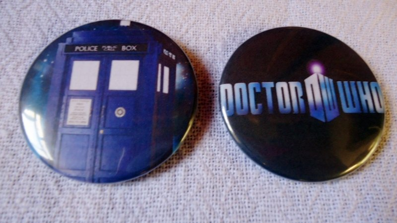 Bottons - Doctor Who