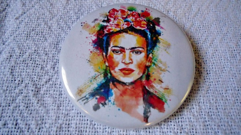 Botton - Frida Kahlo