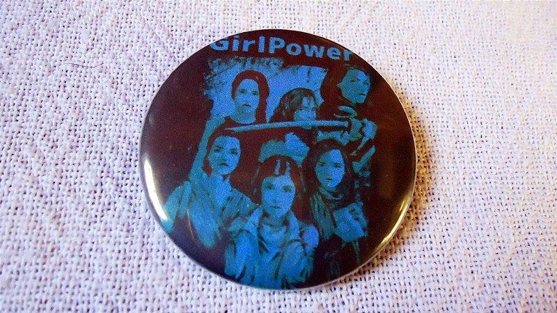 Botton - #GirlPower