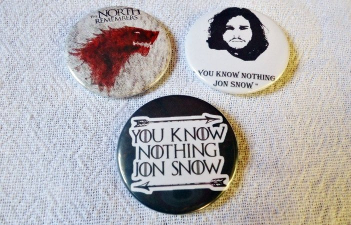 Bottons - Game of Thrones
