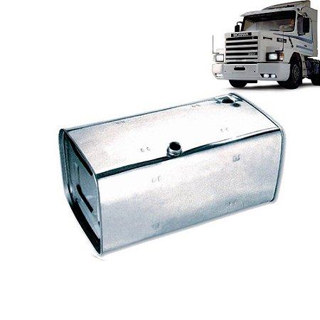 Tanque de Combustível Inox Scania 112 113 143 400 Litros