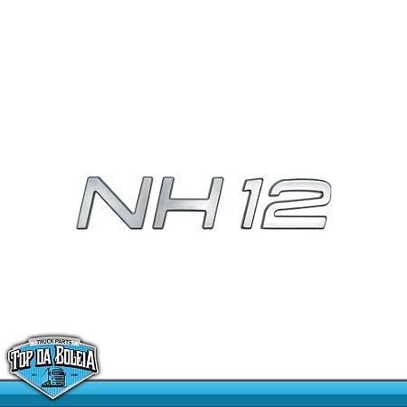 Letreiro Volvo NH 12