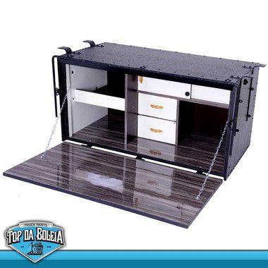 Caixa de Cozinha para Caminhão Caibi Standard 114 x 058 x 056