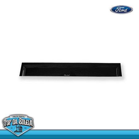 Calha de Chuva Porta para Caminhão Ford Cargo até 2011 Reta (Fix.Borracha)