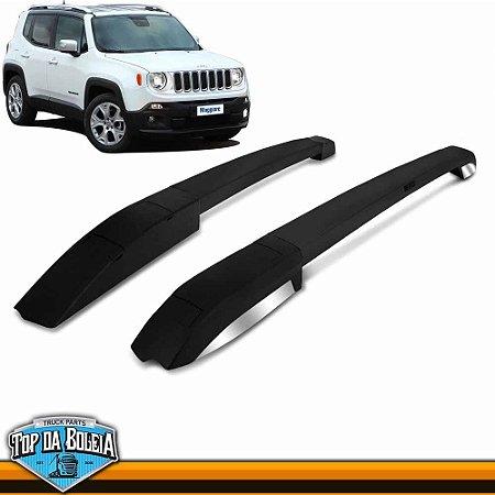 Rack Longarina de Teto Executive Preto para Jeep Renegade
