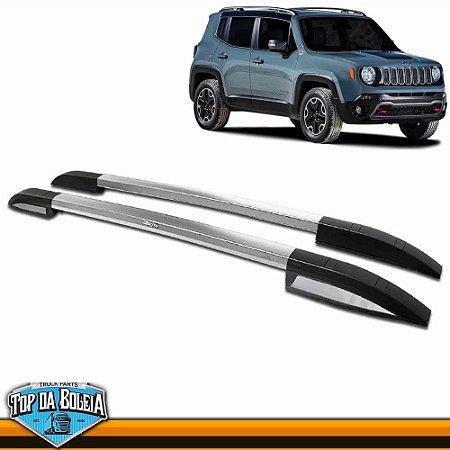 Rack Longarina de Teto Executive Polido para Jeep Renegade