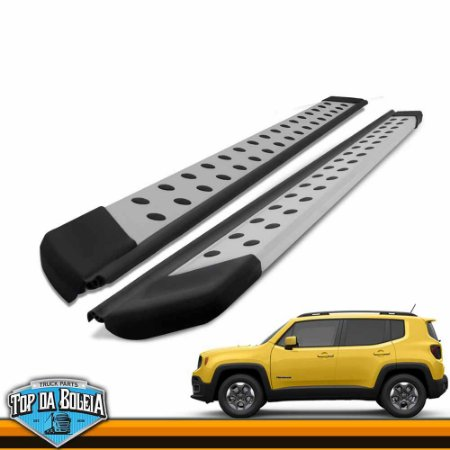 Estribo Plataforma Polido Para Jeep Renegade