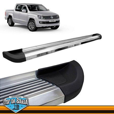 Estribo Alumínio G2 Polido para Pick-up Volkswagen Amarok Cabine Dupla