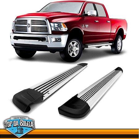 Estribo Alumínio G2 Polido para Pick-up Dodge Ram de 2012 à 2015 Cabine Dupla