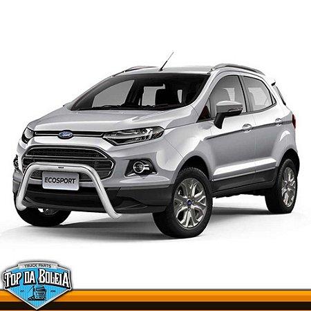Quebra Mato Universal com Grade Vertical Cromado para Ford Ecosport à partir de 2013