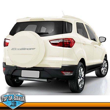 Capa de Estepe Branco Vanilla para Ford Ecosport à partir de 2013