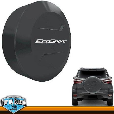 Capa de Estepe Grafite Metálico para Ford Ecosport à partir de 2013