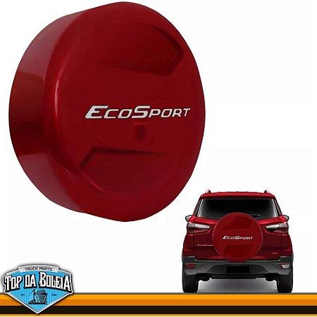 Capa de Estepe Vermelho Merlot para Ford Ecosport à partir de 2013