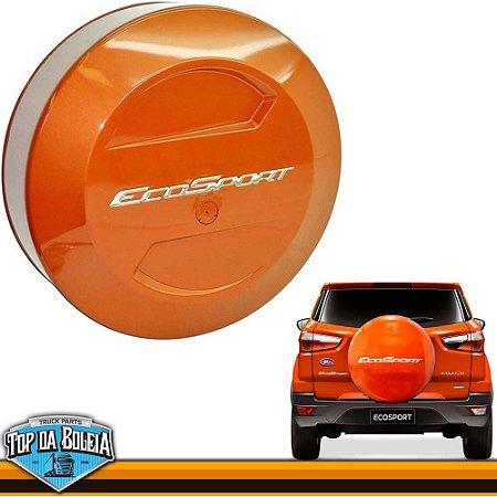 Capa de Estepe Laranja Savana para Ford Ecosport à partir de 2013