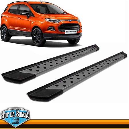 Estribo Alumínio Plataforma Polido para Ford Ecosport à partir de 2013