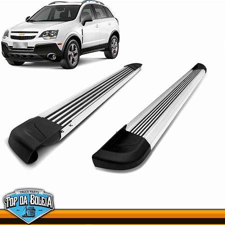 Estribo Alumínio G2 Polido para Chevrolet Captiva