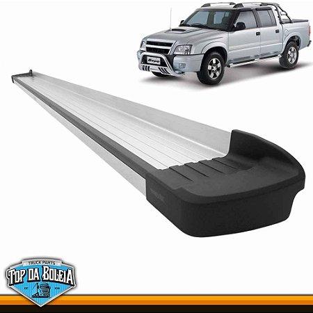 Estribo Alumínio Elegance G3 Polido para Pick-up Chevrolet s10 Cabine Dupla à partir de 2012