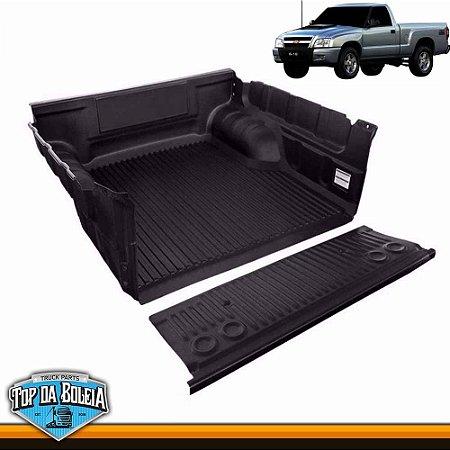 Protetor de Caçamba para Chevrolet S10 Inferior à 2011 Cabine Simples