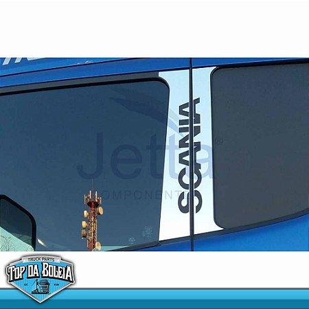 Conjunto Inox Coluna da Porta para Scania a Partir de 1998