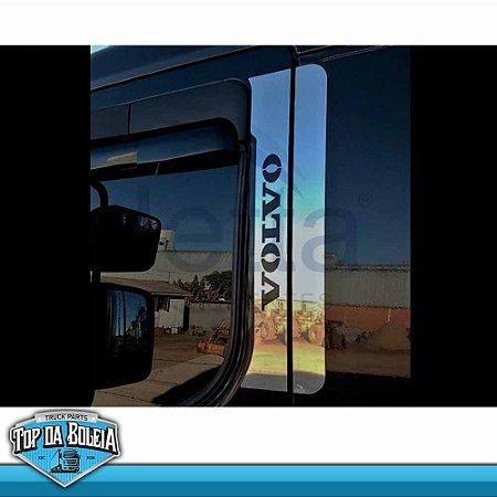 Conjunto em Inox Coluna da Porta Volvo VM