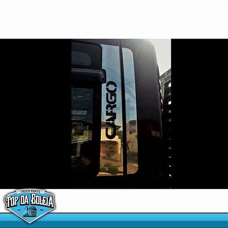 Conjunto em Inox Coluna da Porta para Ford Cargo Moderno